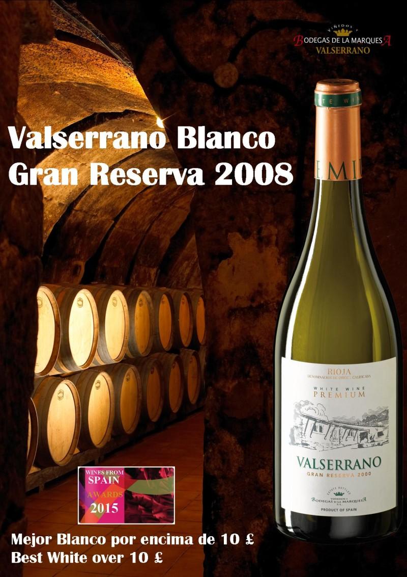 Valserrano-Blanco-Gran-Reserva-Wines-from-spain-awards1-e1437545567529