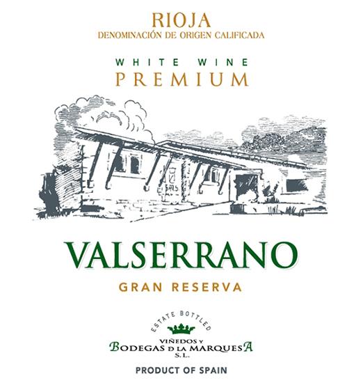 Valserrano Blanco Gran Reserva