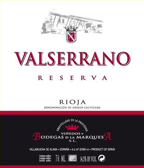 Valserrano Reserva